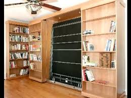 bookcases for bedrooms photo yvotube com murphy bed bookshelves for smart spaces library youtube remodel 13