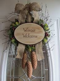 Front Door Decorations For Winter - 143 best wreaths swags and door decor images on pinterest swag