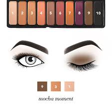 mad for matte eyeshadow palette summer breeze e l f cosmetics