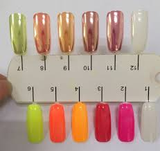 1g 2g 5g mirror powder nails silver nail powder chrome nail polish