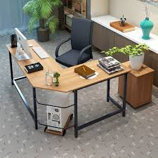 L Shaped Desk Ebern Designs Tetrick L Shaped Computer Desk Reviews Wayfair