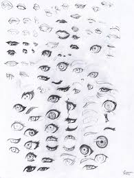 eyes and lips sketch by playercharacter on deviantart
