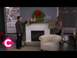 Christmas Decorations For Fireplace Mantel Christmas Decorations For Your Fireplace Mantle Youtube