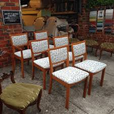 Upholstery Outdoor Furniture by New Upholstery For These Parker Furniture Dining Chairs In Warwick