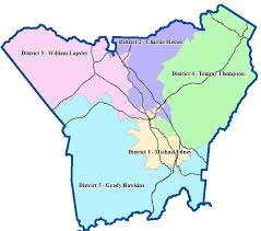 henderson county commissioner districts