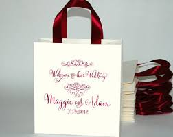 personalized wedding welcome bags wedding welcome bags etsy