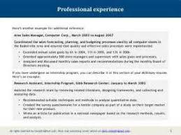 Mckinsey Resume 20 Sample Resume It Professional Salary Talk During The Job
