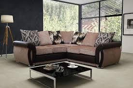 light brown leather corner sofa fabric and leather corner sofa eo furniture