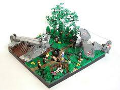 some kind of post apocalyptic lego scene thingy s6 lego