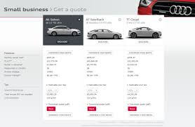nissan gtr finance calculator audi uk launches real time online finance quotation for business