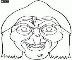 images halloween mask templates witches halloween ideas