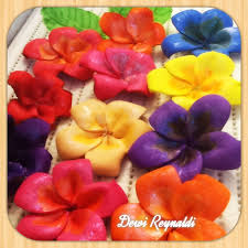 diy how to make plumeria frangipani craft foam flower hair bow