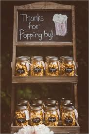 wedding favours that will wow your guests favors popcorn and