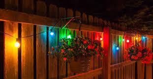 patio lighting ideas color me creative lights etc