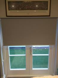 blackout roller blind french door reverse roll pimlico