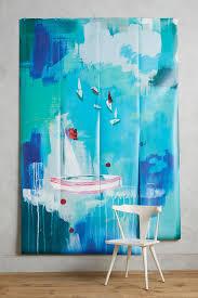sailing scene mural anthropologie