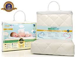 Crib Mattress For Toddler Bed Bamboo Crib Mattress Pad Waterproof Cover Toddler
