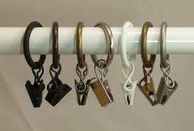 Drapery Clips Without Rings Curtain Astonishing Curtain Rings With Clips Awesome Curtain