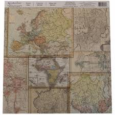 Vintage World Map Canvas by Buy The World Map Paper By Recollections At Michaels