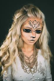 leopard halloween makeup ideas www vivianmakeupartist com lion lions makeup queen of the jungle