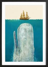 terry fan the whale art print the whale as canvas print by terry fan juniqe