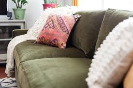 how to decorate using a green velvet sofa u2013 astral riles