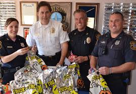 spencers gifts halloween edison police to be armed with goodie bags on halloween nj com