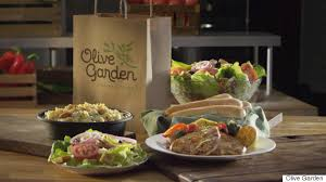 can you get unlimited soup and salad at olive garden for dinner