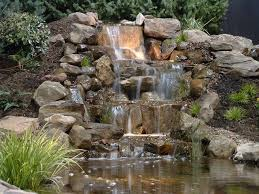 the 25 best rock waterfall ideas on pinterest large garden