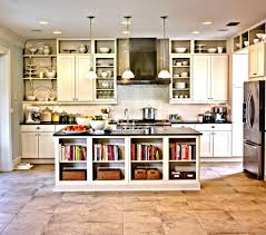 open wooden shelving in kitchen shelves instead of cabinets 15