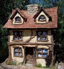 creative paperclay air dry modeling material fairy tale cottage