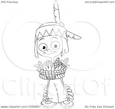 happy thanksgiving native american clipart of a black and white happy cute native american indian boy