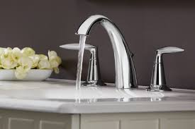 double handle kitchen faucet bathroom contemporary kohler faucets for kitchen or bathroom