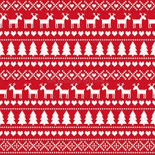 christmas seamless pattern card scandinavian sweater style