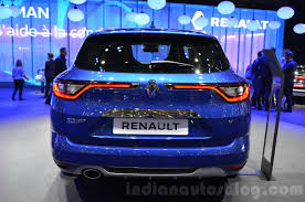 renault megane estate 2016 renault megane estate gt rear at the 2016 geneva motor show