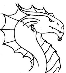 chinese dragon head coloring printable 21 dragon head