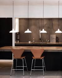 Modern Kitchen Island Lighting Awesome Teapot Kitchen Behind Tall Windows In Grey Tone And
