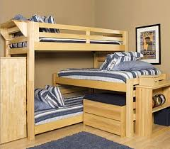 Bunk Bed For 3 3 Bed Bunk Bed Plans Solemio