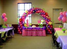 1st birthday party decorations at home balloon decoration ideas for 1st birthday party at home utnavi info