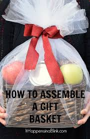 gift basket wrap how to assemble a gift basket