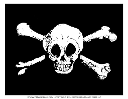 Printable Flags Jolly Roger Pirate Flag Printable For A Pirate Birthday Party