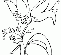 colouring free printable coloring pages flowers fresh in design