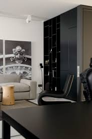 monochrome interior design line architects design a contemporary apartment in kishinev moldova