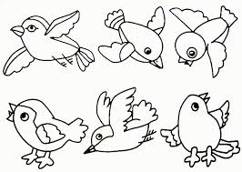 spring robin coloring pages kids coloring
