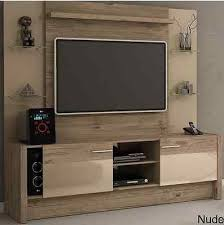 entertainment center wall unit natural wood tv console rustic