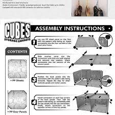 16 cubes diy armoire corner cabinets freestanding wardrobes closet