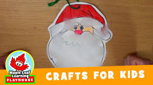 santa u0027s beard christmas craft for kids maple leaf learning