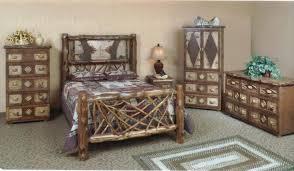 Birch Bedroom Furniture Adirondack Twig Birch Bark Bedroom Set Bedroom Furniture Reviews