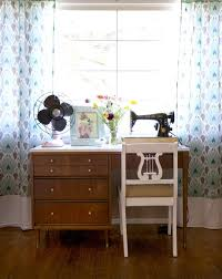 sewing tables by sara sunny small apartment in santa monica desks apartments and small