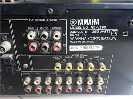 home theater yamaha yamaha rxv 395 home theatre amplifie end 1 7 2015 11 15 am